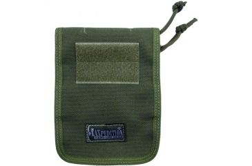 Maxpedition 4x6in Notebook Cover - OD Green 3303G