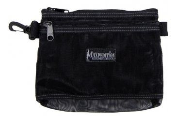 Maxpedition 8 x 6 Moire Pouch - Black Mesh 0809BM