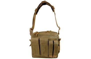 Maxpedition Active Shooter Bag - Mag Front - Khaki 9833K