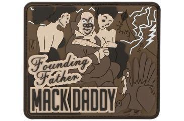Maxpedition Ben Franklin Mack Patch, Arid MACKA
