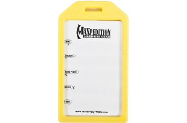 4-Maxpedition Designer Luggage Tag