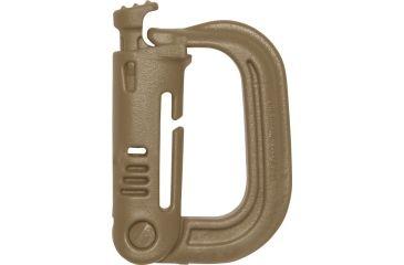 Maxpedition Grimloc Locking D-Ring, Desert Tan MXGRMLK