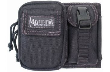 Maxpedition H-3 Waistpack Pouch - Black 0318B