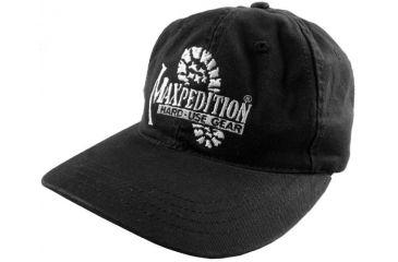 Maxpedition Logo Cap - Black BCAP-Logo-B