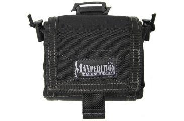 Maxpedition Mega RollyPoly Folding Dump Pouch - Black 0209B