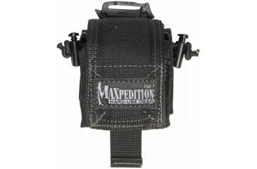 Maxpedition Mini RollyPoly Small Folding Utility Pouch - Black 0207B