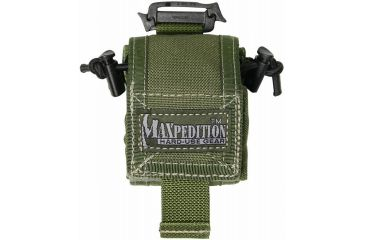 Maxpedition Mini RollyPoly Small Folding Utility Pouch - OD Green 0207G