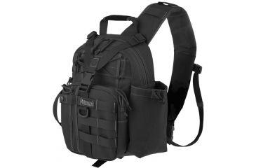Maxpedition Noatak S-Type Gearslinger Backpack, Black 0484B