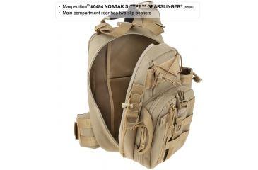 Maxpedition Noatak S-Type Gearslinger Backpack, Khaki 0484K