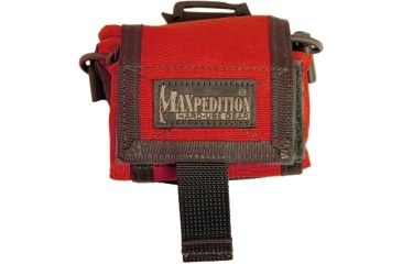 Maxpedition Rollypolly Folding Dump Pouch Emergency Red