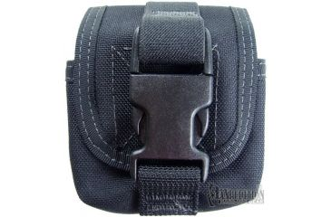 Maxpedition Single Frag Grenade Pouch - Black 1435B