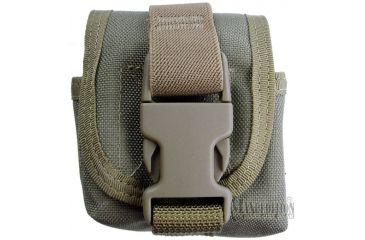 Maxpedition Single Frag Grenade Pouch - Khaki 1435K