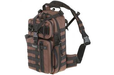 Maxpedition Sitka Gearslinger Backpack - Dark Brown 0431BR