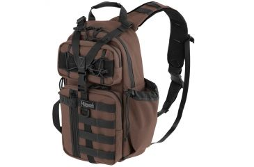 Maxpedition Sitka S-type Gearslinger Backpack, Dark Brown 0467BR