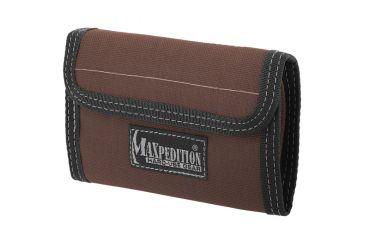 Maxpedition Spartan Nylon Wallet - Dark Brown 0229BR