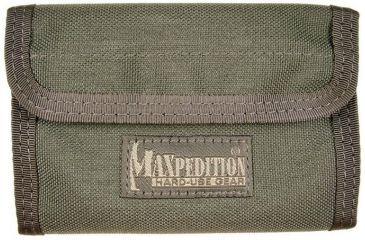 Maxpedition Spartan Nylon Wallet - Foliage Green 0229F