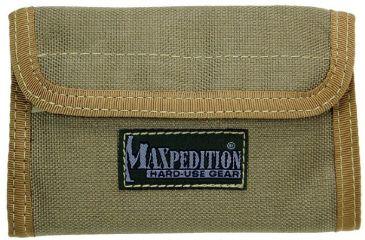 Maxpedition Spartan Nylon Wallet - Khaki 0229K