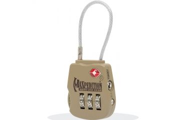 Maxpedition Tsalock Tactical Khaki Luggage Lock