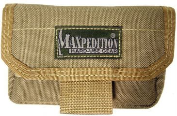 Maxpedition Volta Battery Pouch - Khaki 1809K