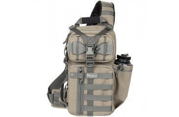 Maxpedition S-type Gearslinger Gear Pack, Khaki-Foliage 0467KF