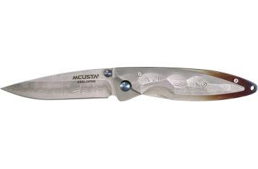 MCUSTA Kusumi Folder Knife, 3.5in. Closed MCU31D
