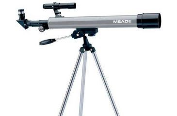 Meade 50AZ-P Altazimuth Refractor A-Series Entry Level Telescope, 04050