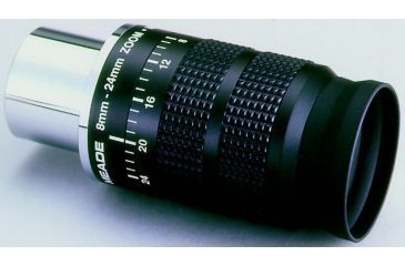 Meade Series 4000 8mm-24mm Zoom Eyepiece 1.25 inch 07199-2
