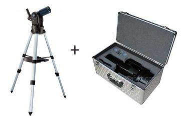Meade ETX-80 AT-TC Astro Telescope w/ Meade Aluminum Hard Carry Case