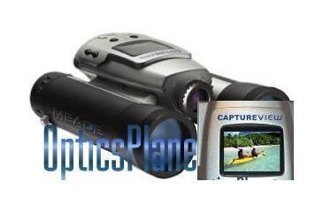 Meade CaptureView 8x30 Water Resistant Binoculars Digital Camera 2MP LCD (3.0MP Interpolated) CVB1009