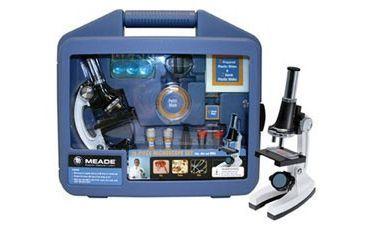 Meade Childrens 28-piece Starter Microscope Kit w/ Tweezers, Filter, Slicer