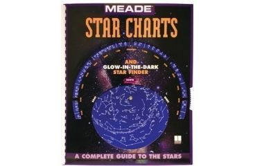 1-Meade Star Chart Guide / Planisphere Map Atlas 09103-1