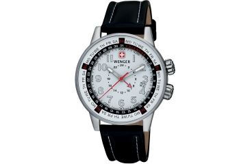 Wenger Commando30 Men's Stainless Steel Water Resistant Watches