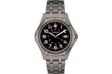 Wenger Standard Issue XL Titanium Watch - Men's Stainless Steel Water Resistant Watch