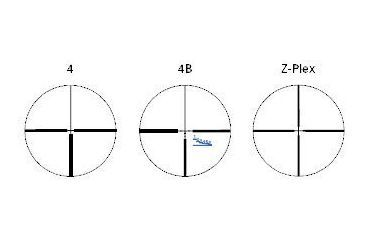 Meopta Artemis 2000 Riflescope Reticles