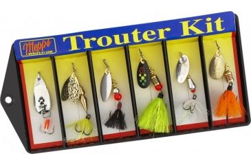 Mepps Trouter Kit - Dressed Lure Assortment 503219
