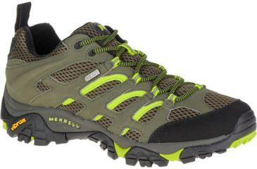 89613ffeba80 Merrell Moab Waterproof Hiking Shoe - Men s-Dusty Olive Black-Medium-9