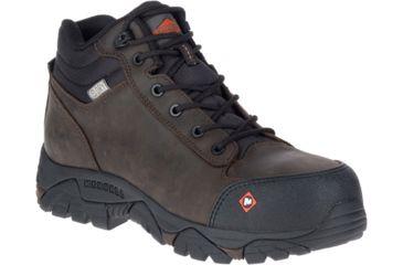 99ee2752d0c Merrell Work Moab Rover Mid Waterproof Ct Shoe - Mens