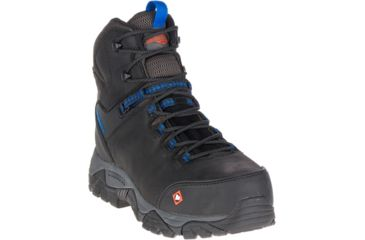 0f93b183205 Merrell Work Phaserbound Mid Waterproof Ct Shoe - Mens | Free ...