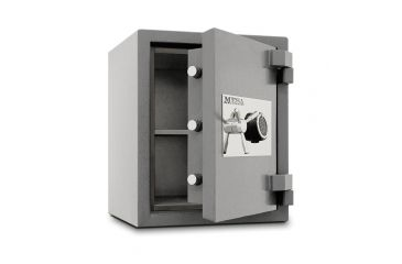 Mesa Safes MSC2520 High Security 2 Hour Fire Safe, Silver, 26.5x22x22in - MSC2520E