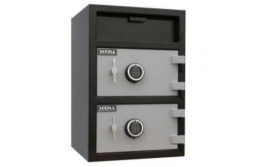 Mesa Safes MFL3020 Double Door Depository Safe Closed