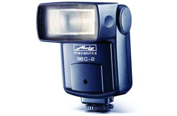 Metz Camera Flash Mounts 36 C-2 Manual And Auto Thyristor Flash MZ 53622