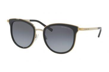 e343c43eaaf Michael Kors ADRIANNA I MK1010 Sunglasses 1100T3-54 - Black gold-tone Frame