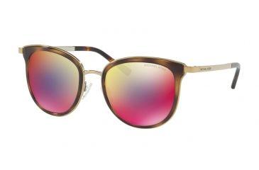 0af916bdea30f Michael Kors ADRIANNA I MK1010 Sunglasses 11016P-54 - Dark Tortoise gold -tone