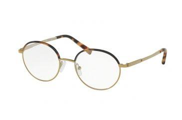 Michael Kors BEV MK3015 Eyeglass Frames 1163-50 - Tokyo Tortoise gold-tone bb01b80362cb
