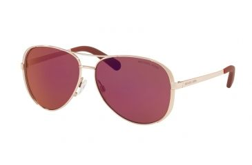 d16b64458fc Michael Kors CHELSEA MK5004 Sunglasses 1017D0-59 - Rose Gold-tone Frame