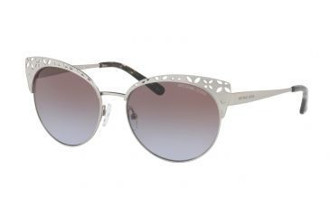 ace2e0afb6 Michael Kors EVY MK1023 Single Vision Prescription Sunglasses  MK1023-106368-56 - Lens Diameter