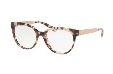 bdaa1e85059c Michael Kors GRANADA MK4053 Eyeglass Frames 3162-50 - Pink Tortoise Frame