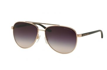 121df4bd8559 Michael Kors HVAR MK5007 Sunglasses 109936-59 - Rose Gold Frame, Grey Rose  Gradient