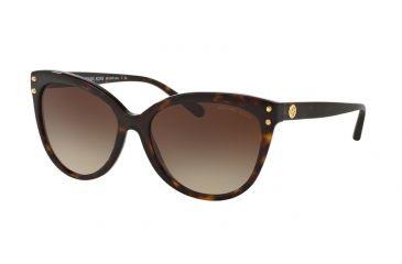 c22d3db5959d Michael Kors JAN MK2045 Sunglasses 300613-55 - Dark Tortoise Acetate Frame