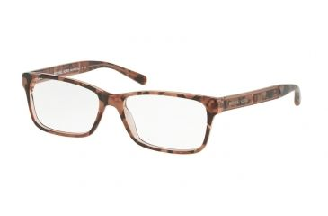 684895eb54 Michael Kors KYA MK4043 Eyeglass Frames 3251-53 - Pink Tort Graphic Frame